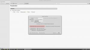 Standardmäßig ist IMAP ausgewählt, dies sollte nicht verändert werden.
