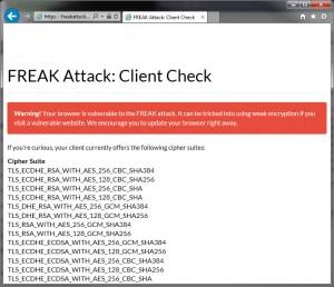 Der Internet Explorer von Microsoft ist anfällig für eine Freak-Attacke und sollte gemieden werden.