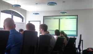 Gezeigt wurden Tricks und Kniffe in C# im neuen Visual Studio 2015 und mit Xamarin.