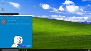 Am Ende musste ich doch in mein Microsoft Konto wechseln.
