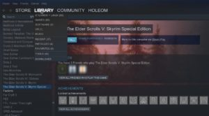 With Steam Play it's possible to play Windows games in Linux